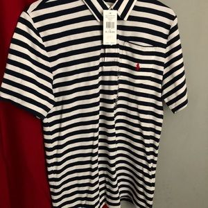 ( Boys) Polo Ralph Lauren Striped Polo